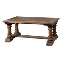 Uttermost Saturia Wooden Coffee Table - 24342