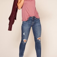 Silas Distressed Jeans