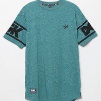 DGK Game Time Teal T-Shirt - Mens Tee - Blue