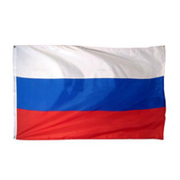 New Large 3x5 Feet Russian Flag Polyester the Russia National Banner Home Decor