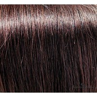 """24"""" Clip In Remy Hair Extensions: Darkest Brown No. 2"""