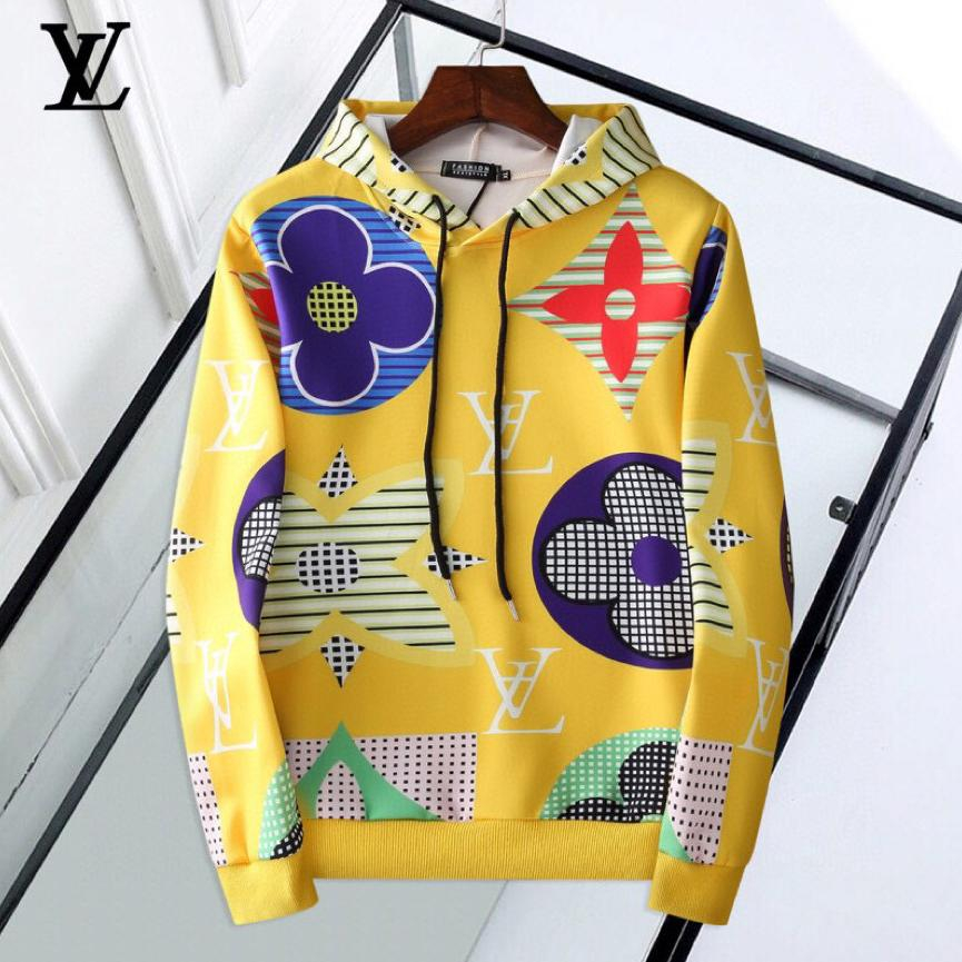 Image of Louis Vuitton Men Fashion Casual Top Sweater Pullover Hoodie