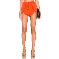 Lovers + Friends Serene Shorts in Coral Reef