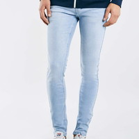 Bleach Wash Jackson Stretch Skinny Jeans - Stretch Skinny Jeans - Clothing