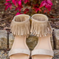 Fringe Is In Sandals