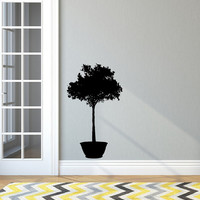 Wall Decal Houseplant Style B Vinyl Wall Decal 22515