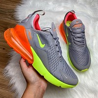 Nike Air Max 270 Grey Volt Orange