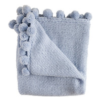 Jubilee Blue Boucle Throw