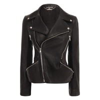 Women Leather - Women Jackets & coats on ALEXANDER MCQUEEN Online Store