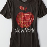 AEO Women's Tailgate For  New York T-shirt (True Black)