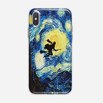 Starry Night With Harry Potter iPhone X Case