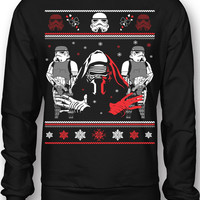 EXCLUSIVE Star Wars Kylo Ren Ugly Christmas Sweatshirt!