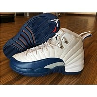"Air Jordan 12 Retro ""French Blue"""