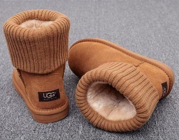Image of Trendsetter UGG Plush Leather Boots Boots In Tube Boots