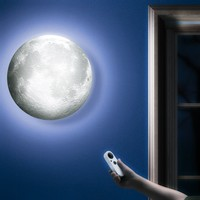 Moon In My Room Remote Control Wall Décor Night Light