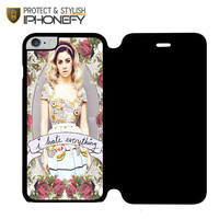 Marina And The Diamond Hate Everything iPhone 6 Plus Flip Case|iPhonefy