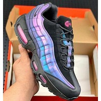 Nike Air Max 95 Gradual Purple Steam Retro Running Shoes sneakers