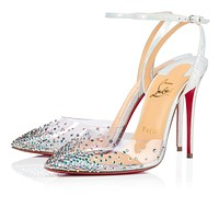 Christian Louboutin 2021 New pointed high heels 100 mm-6