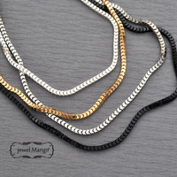 chain necklace, silver, antique silver, gold, black chain, long chain necklaces, fashion jewelry layer necklace layered necklace