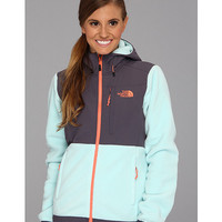 The North Face Denali Hoodie R Frosty Blue/Greystone Blue - Zappos.com Free Shipping BOTH Ways