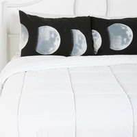 Moon Phase Pillowcase - Set Of 2