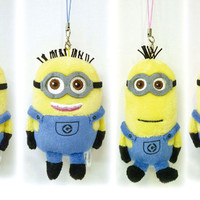 Minions are Back! Get Cute Minions Plush Doll Cell Phone Cleaner Strap at HAMEE. Limited Stock Only!!