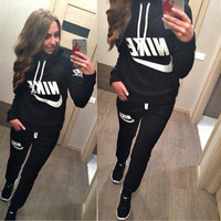 Winter Print Hats Pullover Casual Women's Fashion Set [6358744836]