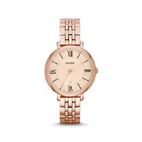 ES3435P Jacqueline Rose-Tone Stainless Steel Watch by Fossil (Women)