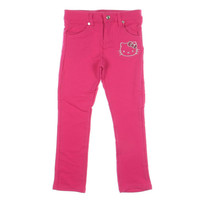 Hello Kitty Girls Embroidered Skinny Pants