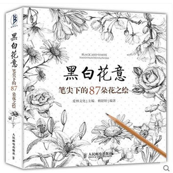 Black And White Sketching & Painting Book Tutorial 272 Pages