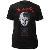 Hellraiser Pinhead and Box Fitted Tee Shirt