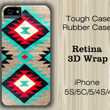Navajo Unique Ethinc Geometric iPhone 6/5S/5C/5/4S/4 Case