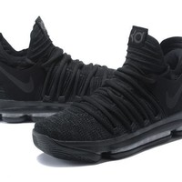 Kevin Durant 10 KD Triple Black Men Sneakers