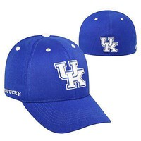 Licensed Kentucky Wildcats NCAA One Fit Adjustable Triple Threat Hat Cap Top of the World KO_19_1