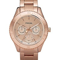 Fossil Stella Plated Watch