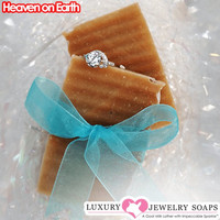 Heaven on Earth Luxury Jewelry Soaps