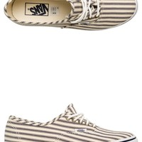 VANS STRIPED AUTHENTIC LO PRO SHOE