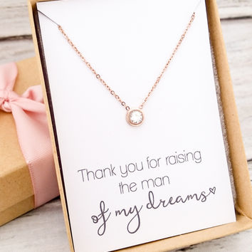 Tiny & Dainty Rose Gold Necklace