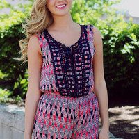 Going Coastal Romper