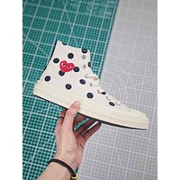 Cdg X Converse Chuck Taylor All Star 1970s High Top White