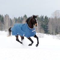 Bucas Freedom Turnout Blanket - Extra - Navy
