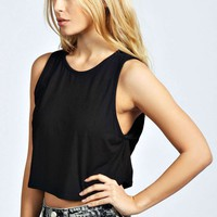Rella Crop Drop Arm Vest