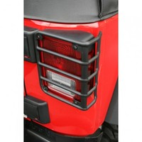 Tail Light Euro Guards, Black, 07-15 Jeep Wrangler | Jeep Wrangler 4-Door Parts | 11226.02 | My Jeep Accessories