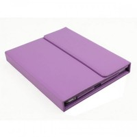 SANOXY IPAD2/3/4 CASE WITH INTEGRATED BLUETOOTH KEYBOARD/2 IN 1 PREMIUM VEGAN LEATHER CASE COVER W/BLUETOOTH 3.0 KEYBOARD FOR IPAD 2 2ND/IPAD3/4th Gen (PURPLE)