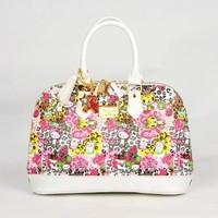 Hello Kitty Leather-like Shopper Tote Shoulder Hand Bag