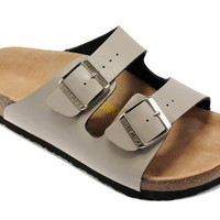 Birkenstock Arizona Sandals Leather Beige