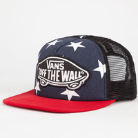 Vans Beach Girl Womens Trucker Hat Navy One Size For Women 26307521001
