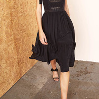 Violet Bow Shoulder Dress | Moda Operandi