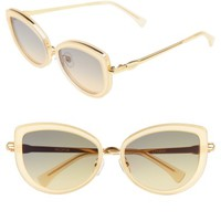 Wildfox Clubhouse 54mm Mirrored Sunglasses | Nordstrom