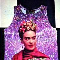 SWEET LORD O'MIGHTY! FRIDA CROP TANK